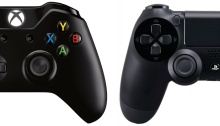 Playstation Controller and Xbox One Controller